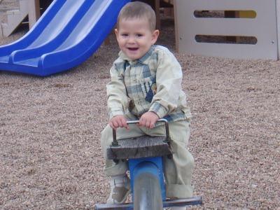 أستمتع باللعب في الحديقة
