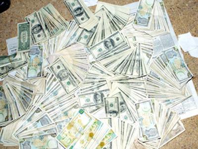 أموال مسروقة